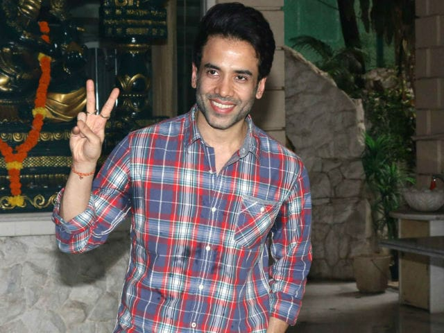 First Pic: Tusshar Kapoor's Son With Jeetendra, Courtesy Aunt Ekta