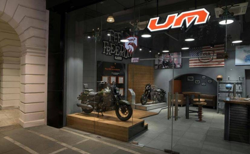 um motorcycles dealership delhi connaught place