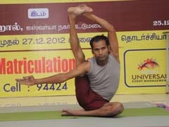 Tamil Nadu Teacher To Perform 69-Hour Yoga For Guinness Record