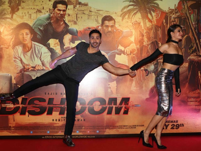 Hands Up, Jacqueline. Varun Dhawan is Armed and Dangerous