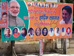 Posters For Key BJP Meet In Allahabad Keep Up Suspense Over Party's Face In UP Polls