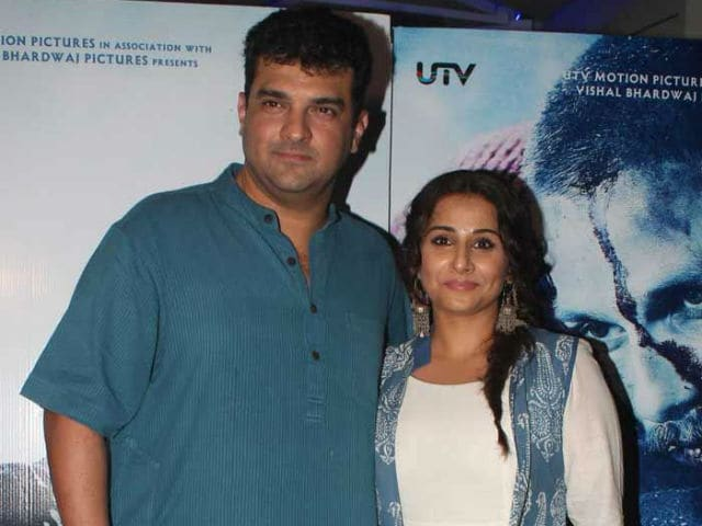 Why Vidya Balan Doesn't Want to Work With Husband Siddharth Roy Kapur
