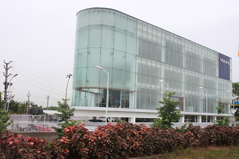 volvo showroom vijaywada