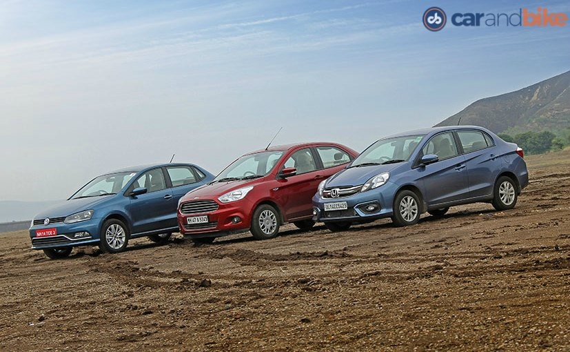 Volkswagen Ameo vs Ford Figo Aspire vs Honda Amaze: Comparison Review