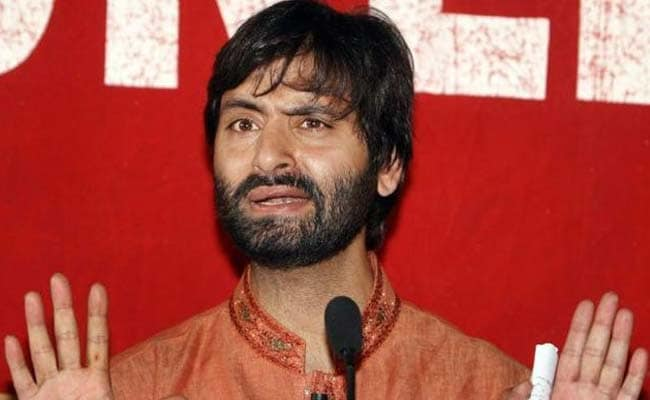 JKLF Chairman Mohammad Yasin Malik Arrested