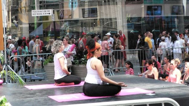 International Yoga Day: New York Celebrates Yoga Day with 'Mind Over Madness'