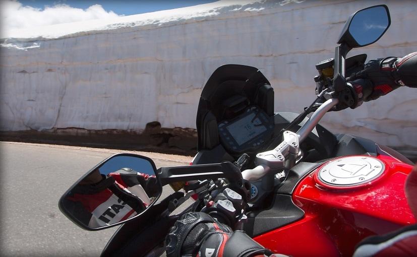 2016 Ducati Multistrada Pikes Peak Console