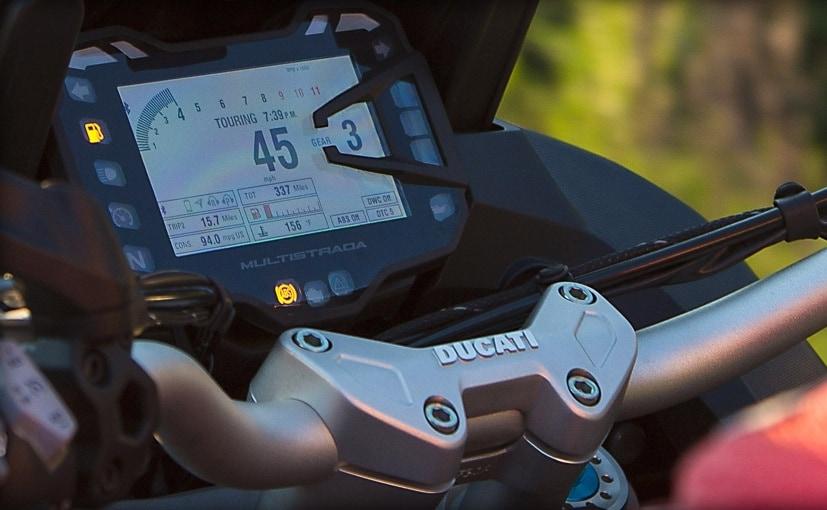 2016 Ducati Multistrada Pikes Peak Electronics