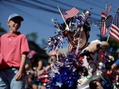 Americans Mark July 4th With Fireworks, Franks, Festivities