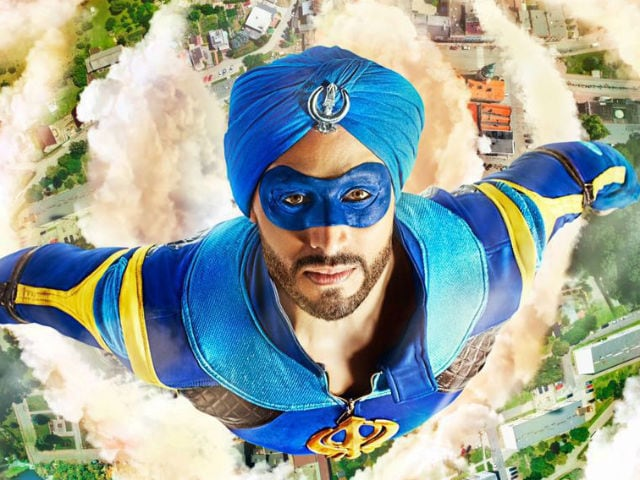 Is it a Bird? Plane? It's Tiger Shroff in A Flying Jatt Motion Poster
