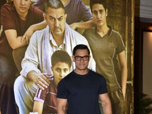 Aamir Khan's Dangal Trends. Twitter Delivers Verdict on Poster