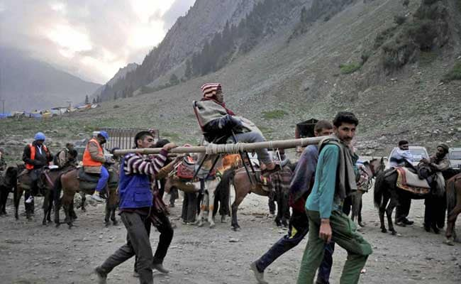 Stone Pelters Could Be Biggest Threat To Amarnath Pilgrimage