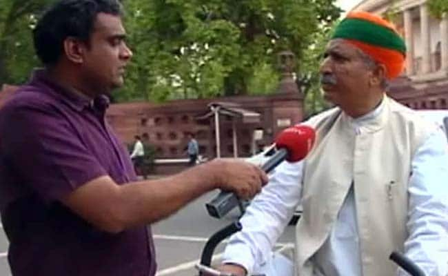 हम जीएसटी थोपना नहीं चाह्ते, स्लैब की संख्या घटाई जाएगी : राज्यमंत्री अर्जुन राम  मेघवाल