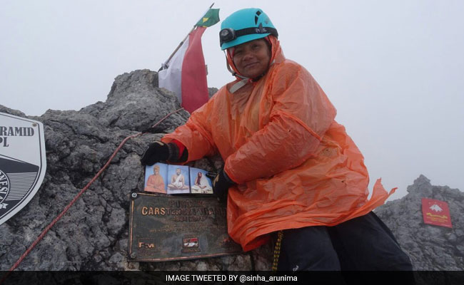 Arunima Sinha Conquers Indonesia's Highest Peak