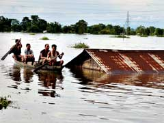 Assam Floods Submerge 22 Districts, Hundreds Of Villages, Leaves 13 Dead