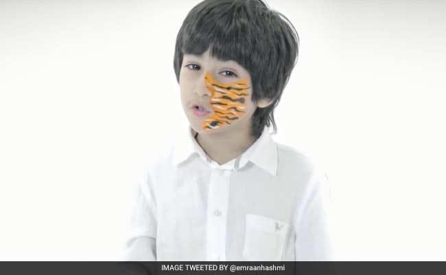 विश्व बाघ दिवस : इमरान हाशमी के छह वर्षीय बेटे अयान ने दिया 'बाघ बचाने का संदेश'