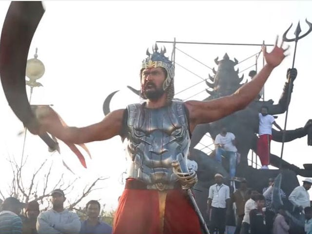 Baahubali Clocks One Year, Director SS Rajamouli Shares Making Video
