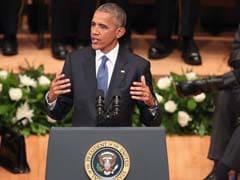 Barack Obama Tells Dallas Memorial US 'Not As Divided As We Seem'