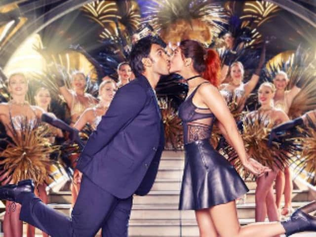 Ranveer Singh, Vaani Kapoor Can't 'Stop Kissing' in New Befikre Poster