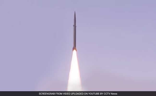 China Releases Video Of First-Ever Ballistic Missile Defence System Test