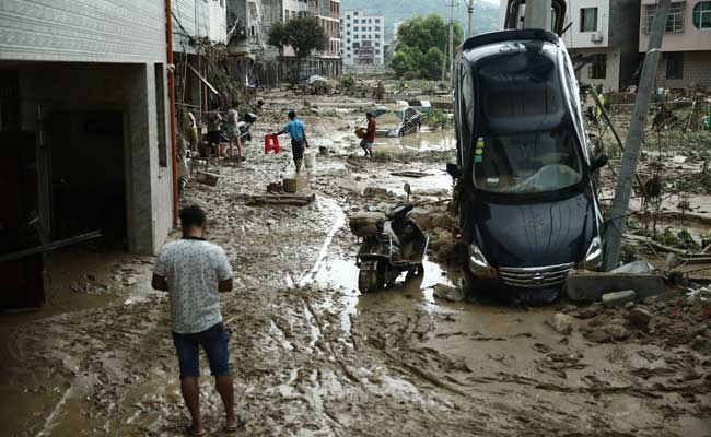 Over 600 Killed In Natural Disasters In China In July