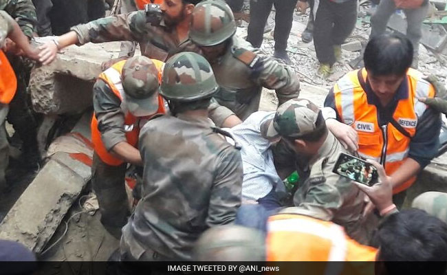 3 Killed In Building Collapse In Darjeeling