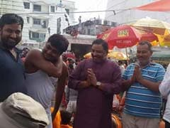 Dayashankar Singh, Untraced By Cops, Photographed At Temple