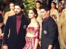 Deepika Padukone, Fawad Khan Close Manish Malhotra's Show at Couture Week