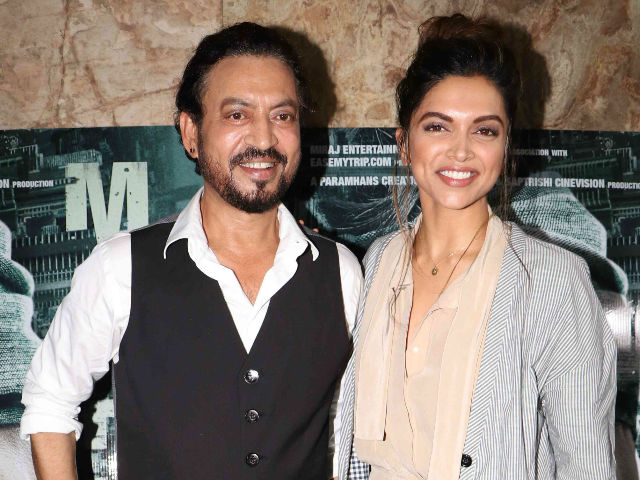 Deepika Padukone Says Irrfan Khan's Madaari is 'Outstanding'