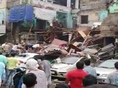 3-Storey Building Collapses In Delhi's Karol Bagh, 3 Persons Injured