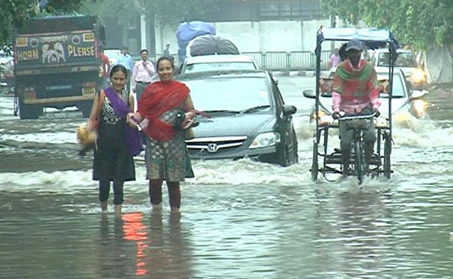 As Rain Causes Water-logging, Traffic Crawls In Parts Of Delhi