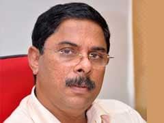 Goa Tourism Minister Escapes Unhurt As Bus Hits His Official Car