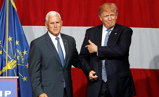 US Vice President Mike Pence To Be Trump's Running Mate In 2020