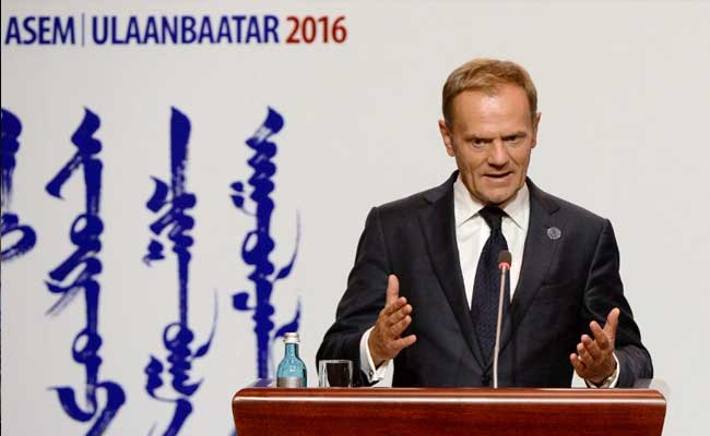 'Dreamer' Donald Tusk Says Brexit Could Be Reversed