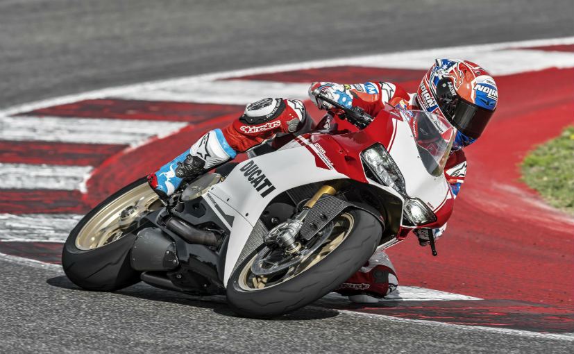 ducati shows off the 1299 panigale s anniversario edition at the