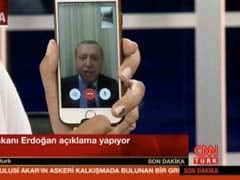 Turkey President Uses FaceTime App To Broadcast Messages