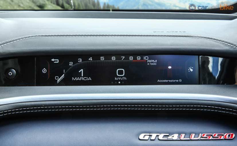 Ferrari GTC4Lusso Dual Cockpit