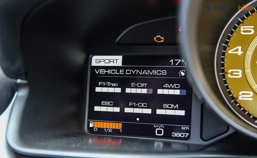 Ferrari GTC4Lusso Electronics