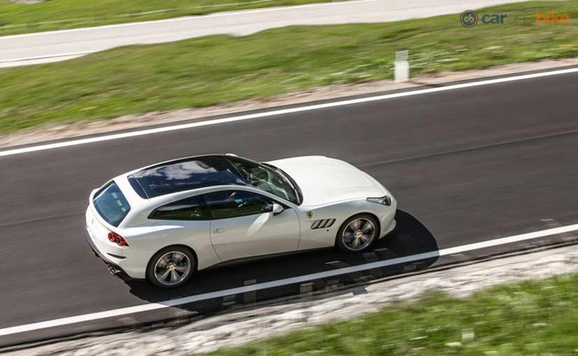 Ferrari GTC4Lusso Handling