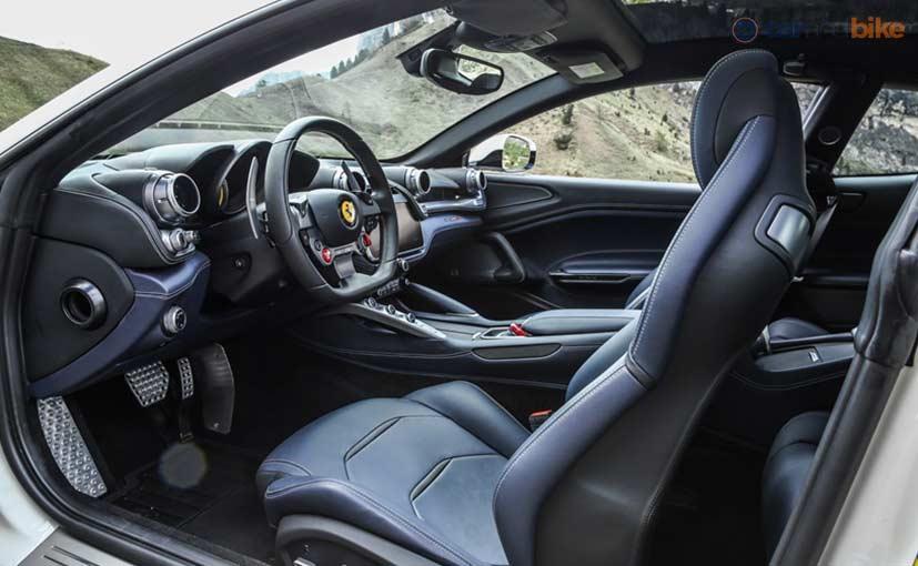 Ferrari GTC4Lusso Review Cabin