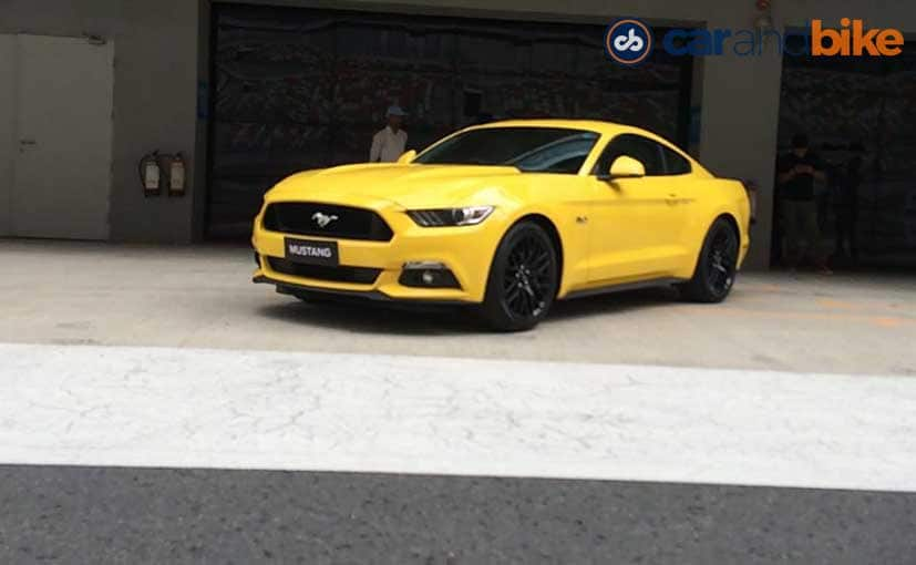 India Spec Ford Mustang Only Gets The   V Engine
