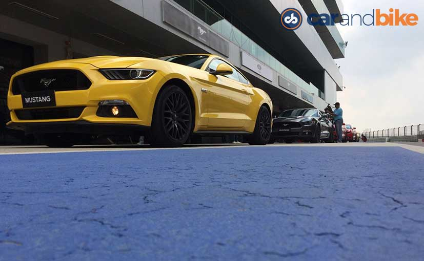 Ford Mustang's Aggressive Front Profile