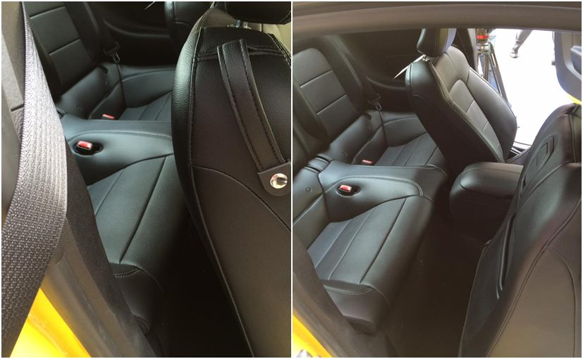 Ford Mustang Rear Seat