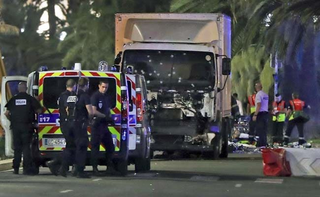 In Nice Truck Used To Plough Into Crowd, Guns, Other Weapons Found