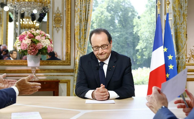 Francois Hollande Says No Trade Deal With UK Before Brexit