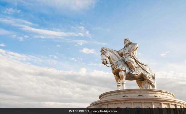 Genghis Khan Keeps A Watch Over Mongolia Again
