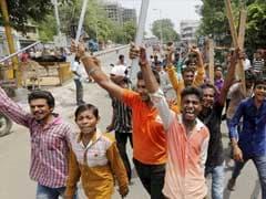 दलितों को पीटे जाने को लेकर गुजरात में विरोध-प्रदर्शन का दौर जारी