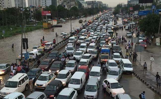 For Rained-Out Gurgaon, Twitter Adds 'Marine Drive' Insult ...