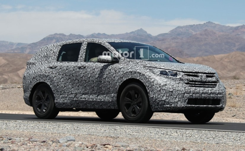 Next Generation Honda CR-V Spotted Testing Again Ahead of Official ...