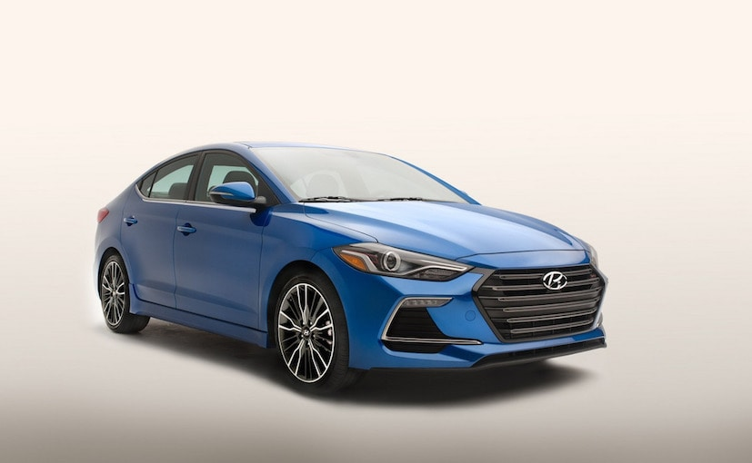 2017 Hyundai Elantra Sport With 200hp Officially Revealed in the US